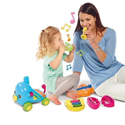 TOMY E72377 Jumbo Jamboree Musical Elephant Sound Puzzle Infant 12+ Kid Toddler Thumbnail 4