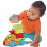 Tomy E72467 3 In 1 Truck-Nesting Puzzle And Tower-Building Game|10+ Month Kid's|