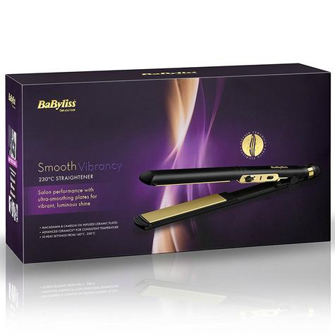 Babyliss 2182U Smooth Vibrancy Hair Straightener With 10 Heat Setting Up To 230° Thumbnail 4