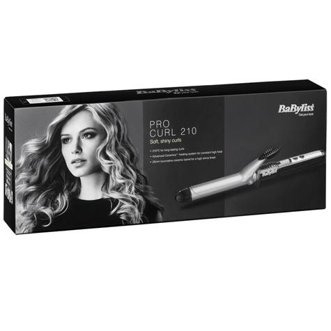BaByliss 2284BU  New Pro Curling Tong|5 Heat Setting Up To 210°C|Ceramic Barrel| Thumbnail 3