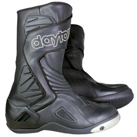 Daytona Voltex GTX Motorcycle/Bike Leather Boots|Waterproof & Breathable|Black|All-Sizes Thumbnail 2