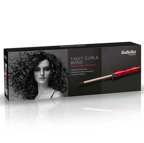 Babyliss 2385U Tight Curls Wand Hair Styler|Extra Long|Ultra Slim|10mm Barrel| Thumbnail 5