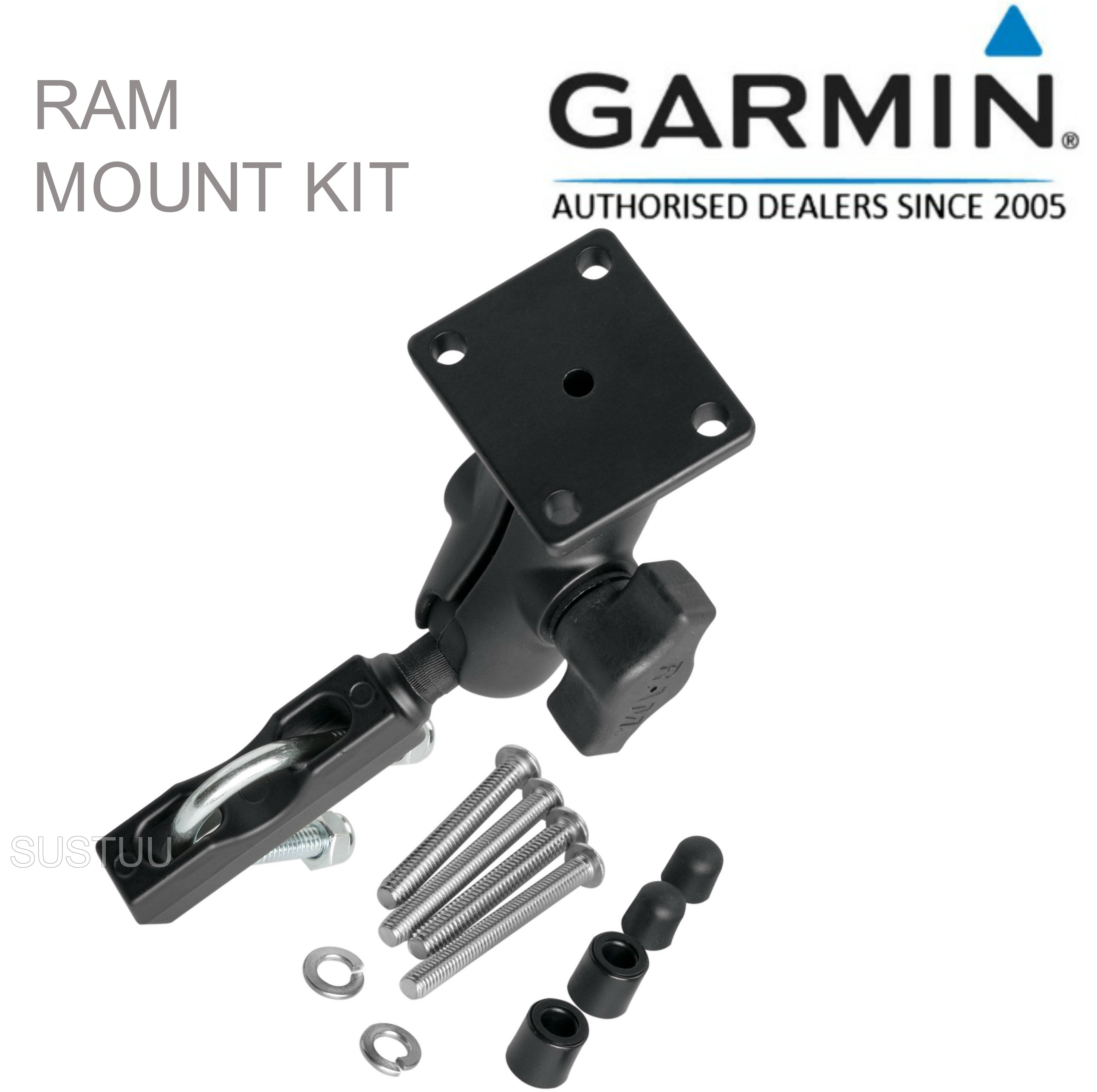Garmin Ram Motorcycle Bike Mount Holder Kit | For Montana 600 610 650 680 & Zumo 590 660
