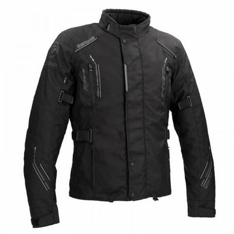 Bering Stomp GTX Motorcycle/Bike Textile Jacket|Gore-Tex|Waterproof & Breathable|CE Approved|Black Thumbnail 2