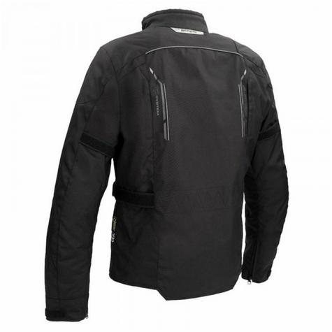 Bering Stomp GTX Motorcycle/Bike Textile Jacket|Gore-Tex|Waterproof & Breathable|CE Approved|Black Thumbnail 3