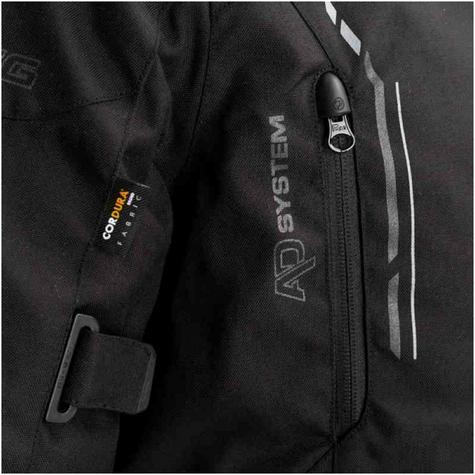Bering Stomp GTX Motorcycle/Bike Textile Jacket|Gore-Tex|Waterproof & Breathable|CE Approved|Black Thumbnail 4