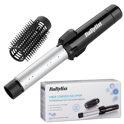 Babyliss 2585U New Large Cordless Gas Hair Styler|200°C Heat|28mm Ceramic Barrel Thumbnail 1