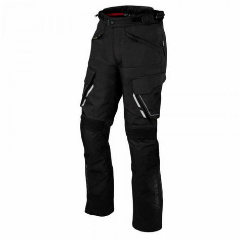 New Bering Shield Motorcycle/Bike Men Textile Pant Trousers|Gore-Tex & Breathable|CE Approved|Black Thumbnail 2