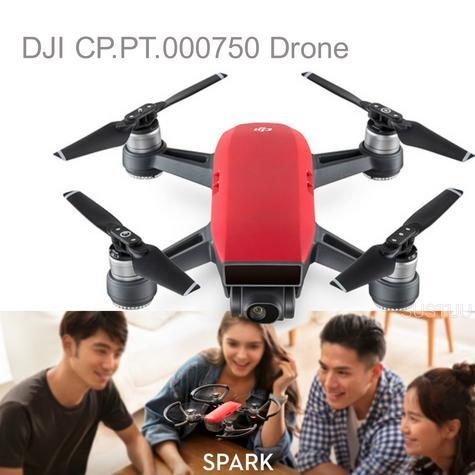DJI Spark Quadcopter Mini Sky Camere Drone 1080p HD 12 MP