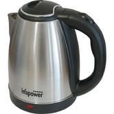 Infapower X503 Brushed Stainless Steel Cordless Kettle|360 Degree|1.8L|1800w|NEW