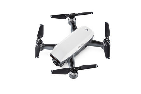 DJI Smart Fly Drone|CP.PT.000746 SPARK|3D Sensing|Worry Free Aircraft - White Thumbnail 3