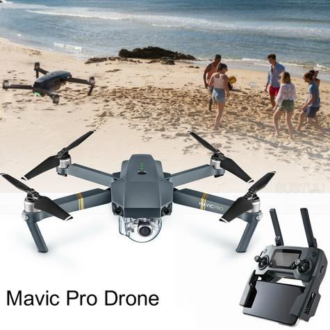 DJI Mavic Pro Drone New|4K Camera|12MP|HD 1080p|5 Vision Sensor|3-axis Gimbal|Compact & Powerful Thumbnail 1