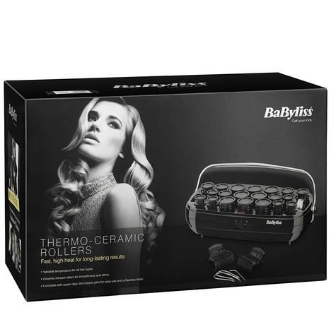 Babyliss 3045 Thermo Ceramic Hair Rollers Set|Fast Heat Up|Clips & Metal Pins| Thumbnail 4