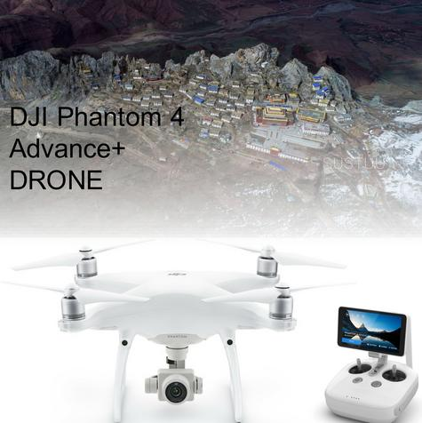 DJI Phantom 4 Advanced+ Drone|HD Video Transmission|5 Vision Sensor|CP.PT.000697 Thumbnail 1