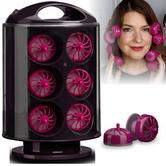 BaByliss 3663U Curling Hair Style Rollers|Ulra Fast Heat Up|18 Large Curl Pods