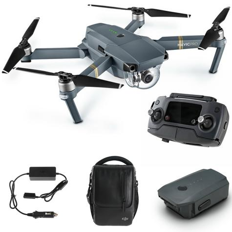 New DJI Mavic Pro Drone Combo Kit|4K Camera|12MP|1080p HD|5 Vision Sensor|3-axis Gimbal|Compact & Powerful Thumbnail 3