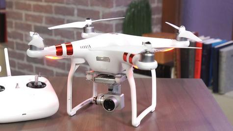 DJI Phantom 3 Standard Drone|12 MP 2.7K HD Video Camera|GPS Sender|CP.PT.000167 Thumbnail 5