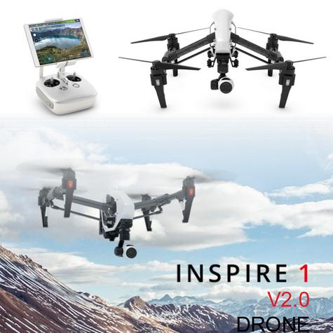 DJI Inspire 1 V2.0 Drone|12MP|4K HD|3 Axis|360°View|1/2.3? CMOS|CP.BX.000105.02 Thumbnail 1