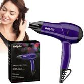 Babyliss New 5282DU Nano Hair Dryer|Lightweight|Dual Heat & Voltage|1200W|Purple