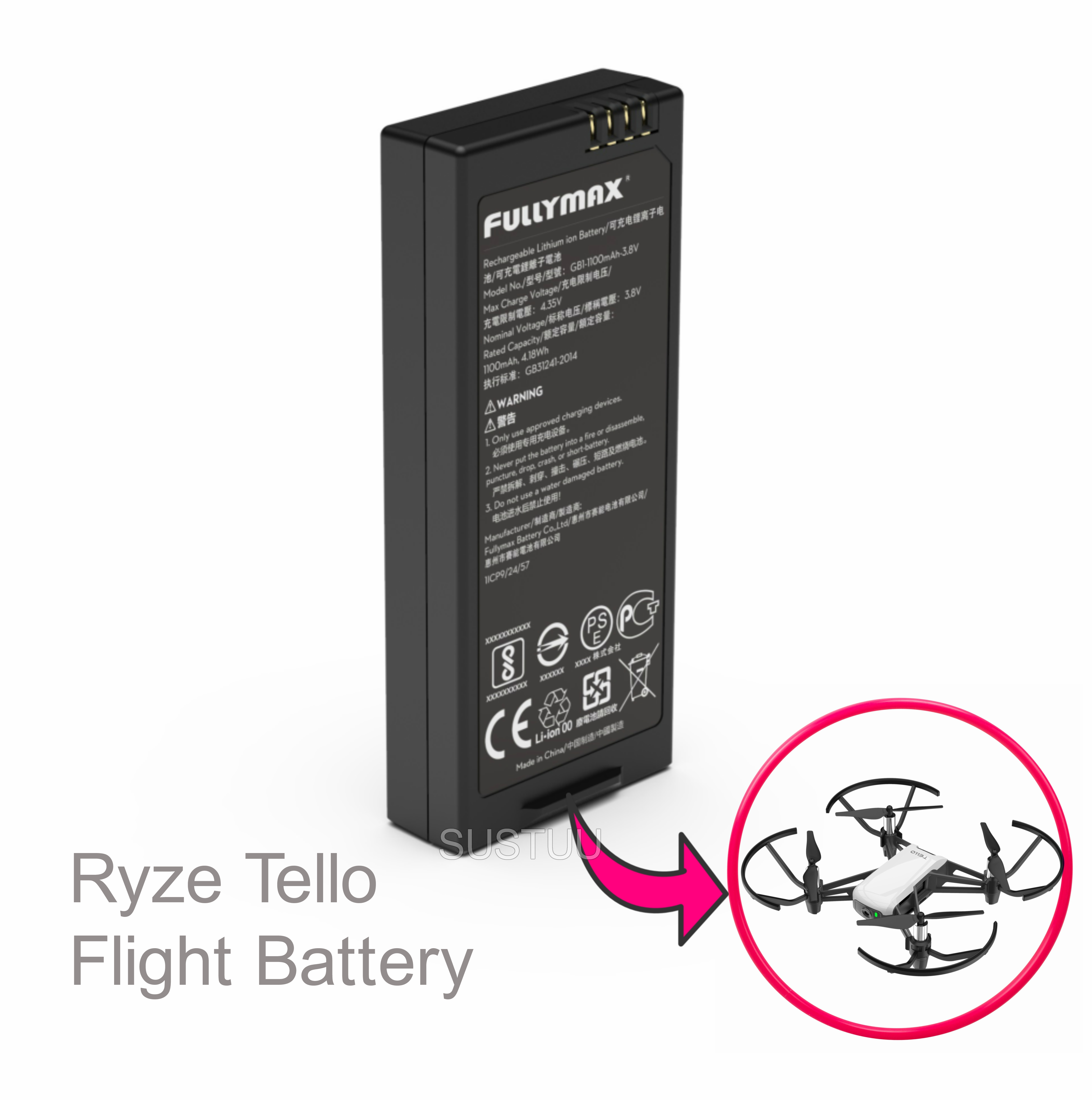 DJI Tello 1100 MAh Battery