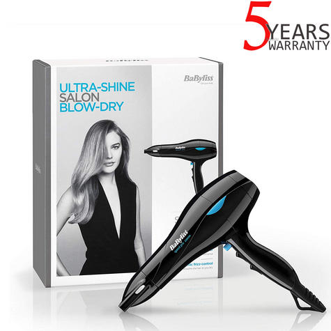 BaByliss 5541CU Salon Ceramic Lonic Hair Dryer|2200W|3 Heat & 2 Speed Setting| Thumbnail 1