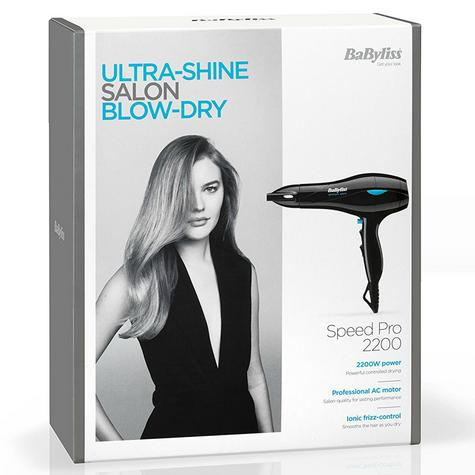 BaByliss 5541CU Salon Ceramic Lonic Hair Dryer|2200W|3 Heat & 2 Speed Setting| Thumbnail 5