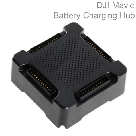 DJI CP.PT.000563|Mavic Drone Battery Charging Hub|Smart-Quick & Reliable|Charge Upto 4 Batteries Thumbnail 1