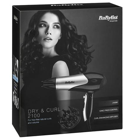 Babyliss 5548CU  Dry & Curl Hair Diffuser Dryer|2100W|3 Heat & 2 Speed Setting| Thumbnail 4