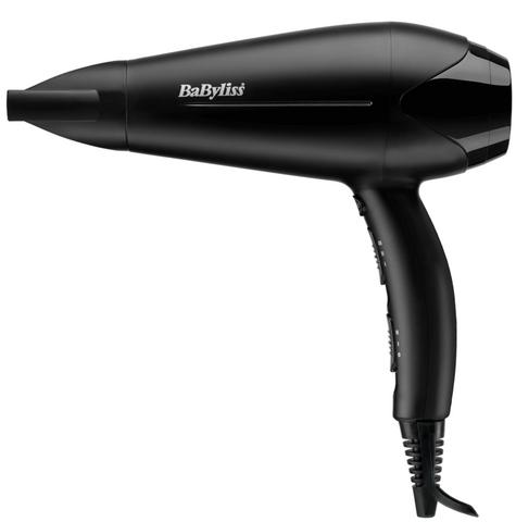 Babyliss New 5563U Turbo Powerful Hair Dryer|3 Heat & 2 Speed Mode|2200W|Black| Thumbnail 2