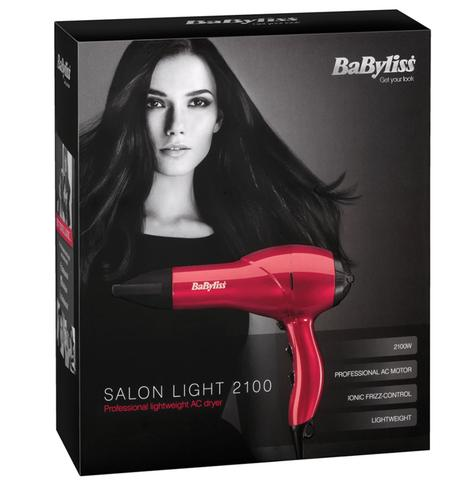 Babyliss New 5568BU Salon Lightweight Professional Hair Dryer|2100W|Heat Balance Thumbnail 4