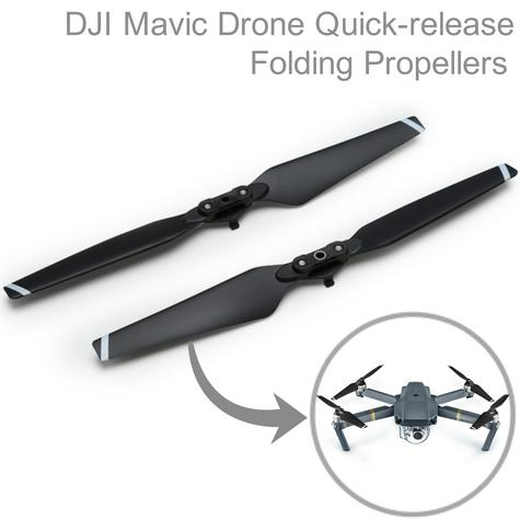 New DJI CP.PT.000578 Mavic Drone Quick Release Folding Propellers|Powerful Thrust|Foldable & Light Thumbnail 1