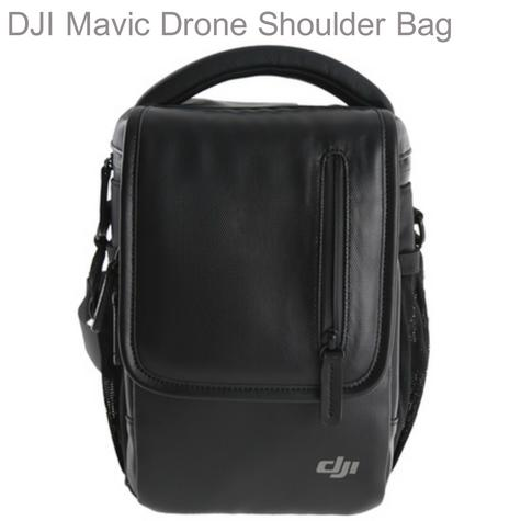 DJI Mavic Drone Upright Shoulder Bag|Carry Mavic & Accessories|CP.PT.000591|Black Thumbnail 1