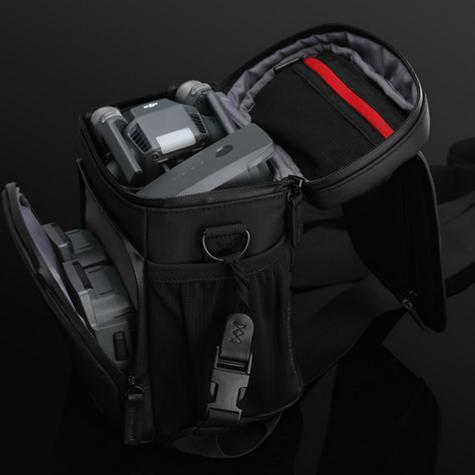DJI Mavic Drone Upright Shoulder Bag|Carry Mavic & Accessories|CP.PT.000591|Black Thumbnail 6