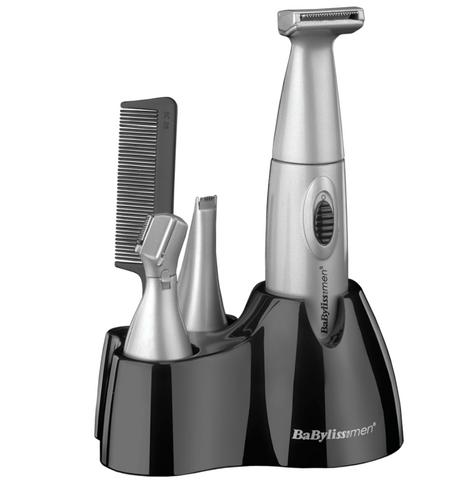 Babyliss New 7040CU Men's Nose/Ear/Eyebrow Trimmer|Battery Operated|6 In 1 Kit| Thumbnail 2