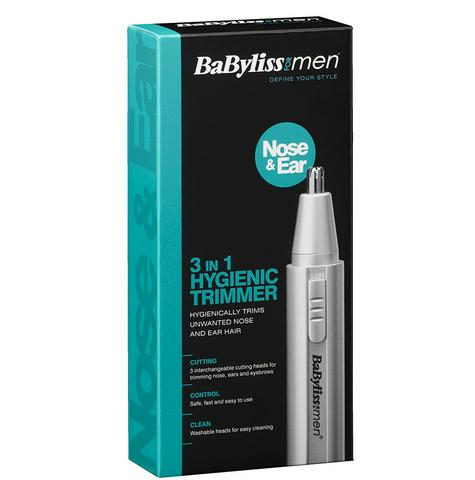 Babyliss 7051BU Men's Moustache/Eyebrow/Ear/Nose Battery Operated Mini Trimmer Thumbnail 5