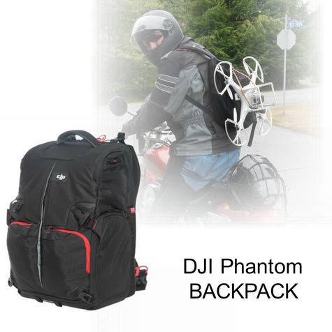 DJI Phantom Backpack|Drone & Accessories Carry Case|Water Resistant-CP.QT.000695 Thumbnail 1