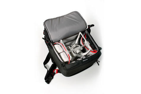 DJI Phantom Backpack|Drone & Accessories Carry Case|Water Resistant-CP.QT.000695 Thumbnail 4