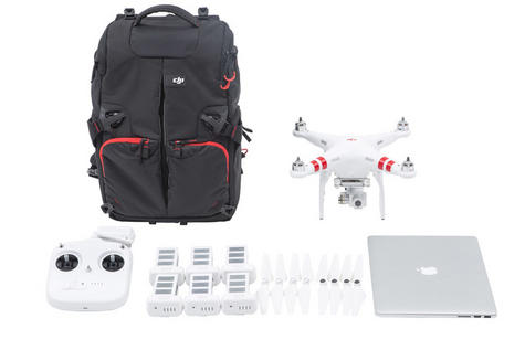 DJI Phantom Backpack|Drone & Accessories Carry Case|Water Resistant-CP.QT.000695 Thumbnail 6