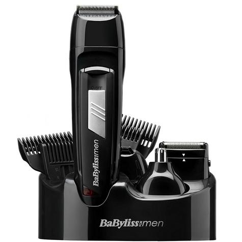 Babyliss New 7056CU Men's 8 In 1 Cordless Grooming Trimmer Kit|Face & Body Hair| Thumbnail 2