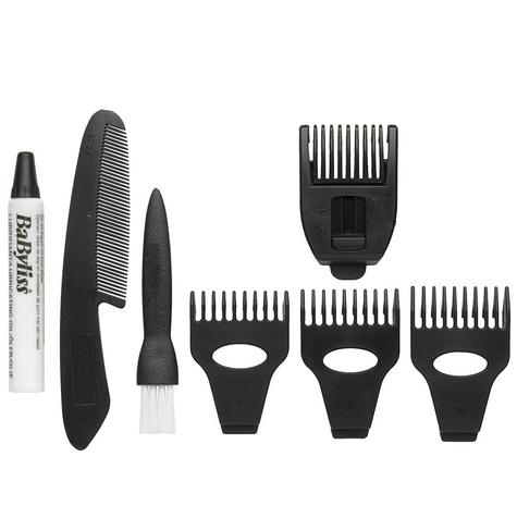 Babyliss New 7056CU Men's 8 In 1 Cordless Grooming Trimmer Kit|Face & Body Hair| Thumbnail 3