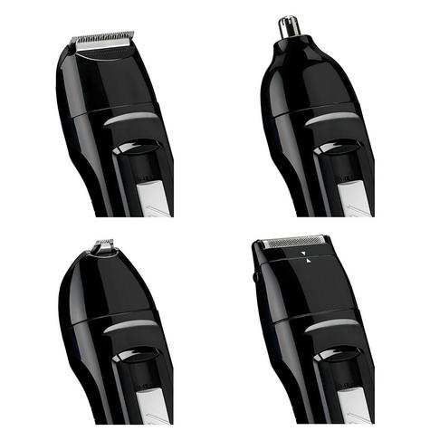 Babyliss New 7056CU Men's 8 In 1 Cordless Grooming Trimmer Kit|Face & Body Hair| Thumbnail 4