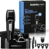 Babyliss New 7056CU Men's 8 In 1 Cordless Grooming Trimmer Kit|Face & Body Hair|