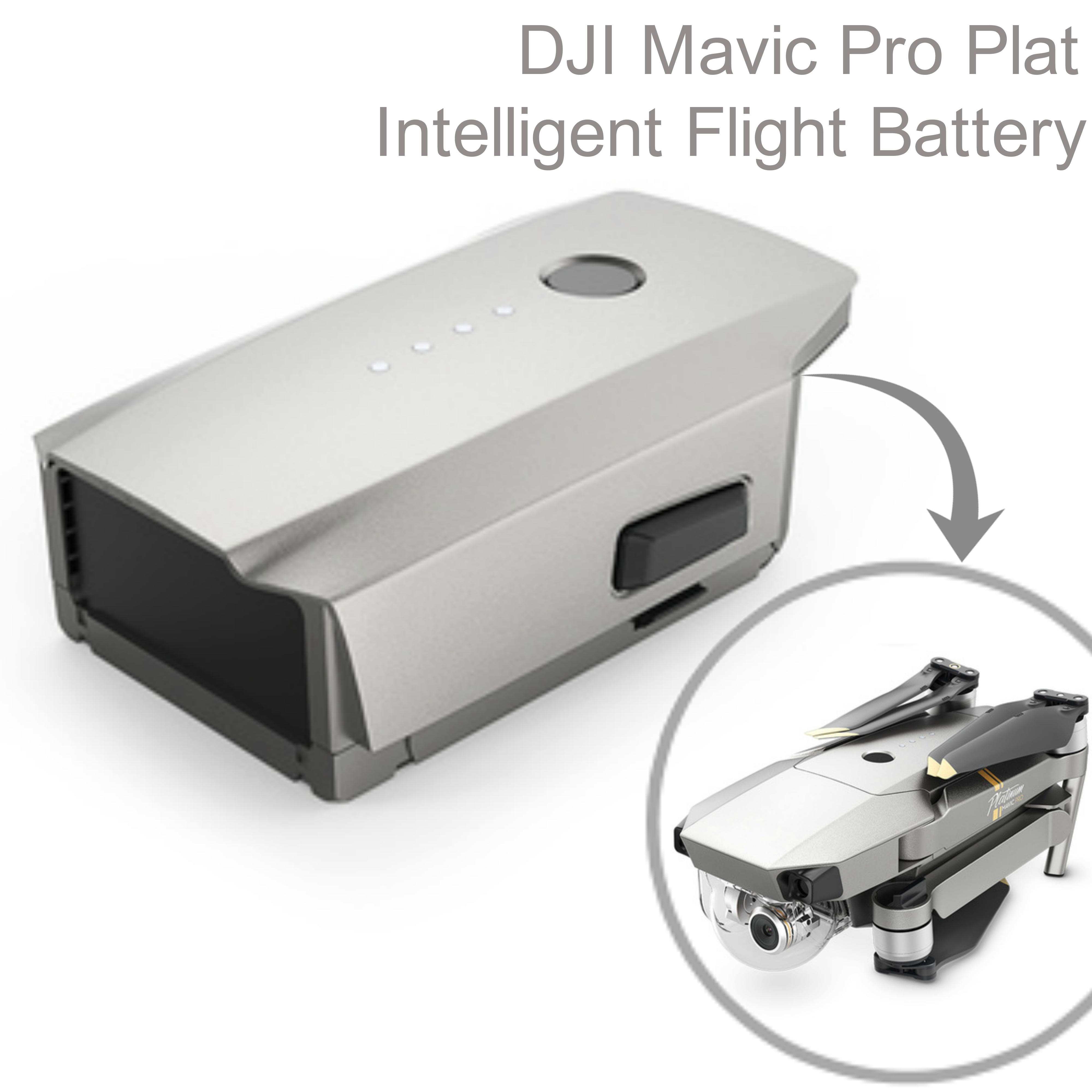 DJI Mavic Pro Platinum Drone Intelligent Flight Battery|3830 mAh|CP.PT.00073.01