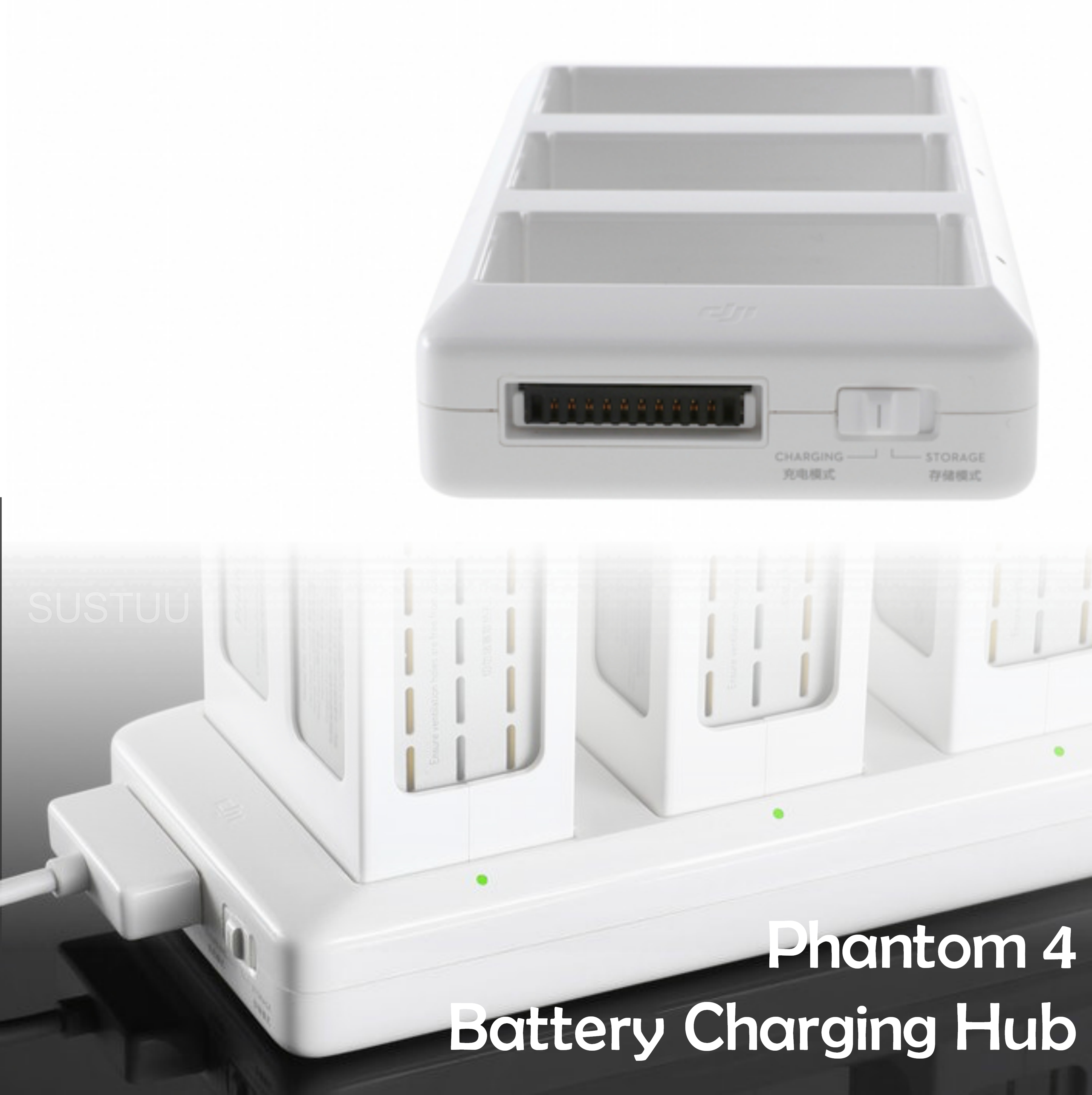 DJI Phantom 4 Battery Charging Hub|17.5V|3 in 1 Sequence Charge|CP.PT.000343