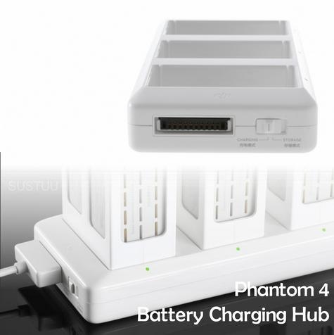 DJI Phantom 4 Battery Charging Hub|17.5V|3 in 1 Sequence Charge|CP.PT.000343  Thumbnail 1