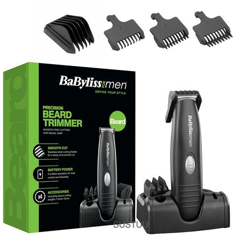 Babyliss New 7107U Men's Precision Bread/Moustache Battery Operated Trimmer Set Thumbnail 1