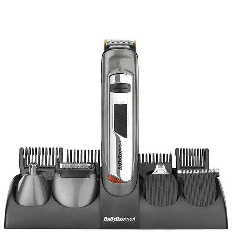 Babyliss New 7235U Men's 10 In 1 Titanium Grooming Beard/Nose/Ears Trimmer Kit Thumbnail 2