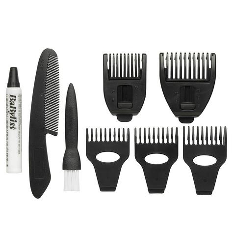 Babyliss New 7235U Men's 10 In 1 Titanium Grooming Beard/Nose/Ears Trimmer Kit Thumbnail 3