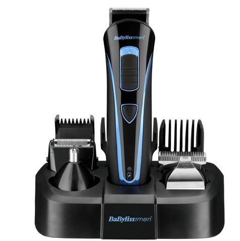 Babyliss Men's Face & Body Hair Trimmer/ Groomer Set?Acu Blade?Lithium Battery Thumbnail 2