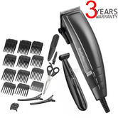Babyliss 7447BU Men's Power Glide Pro Hair Clipper & Trimmer Kit | 22 Accessories